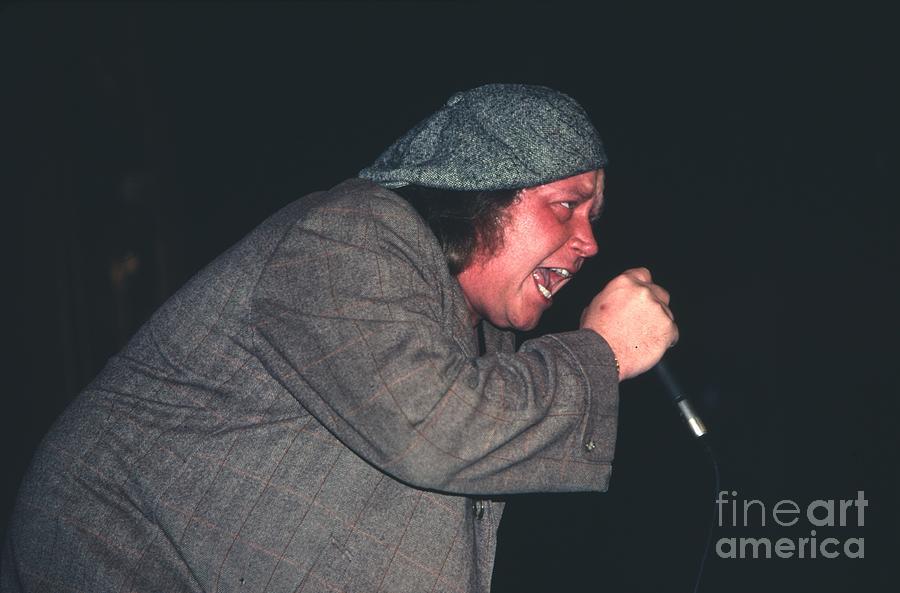 Sam Kinison 1987  Photograph - Sam Kinison by David Plastik