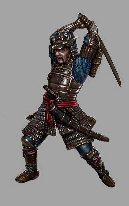 Samurai Photoshop Digital Art - Samurai Warrior by Garry Limuti