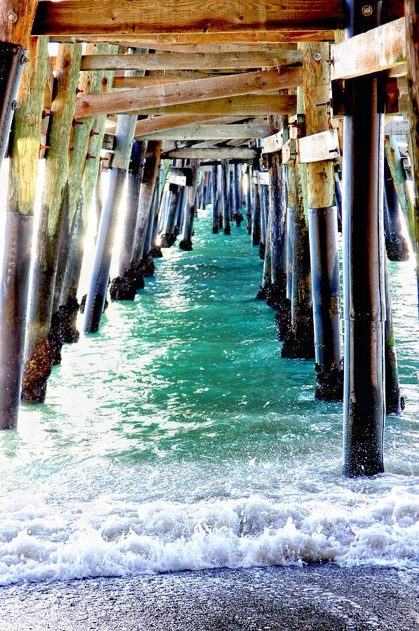San Clemente Photograph - San Clemente Pier by Rosanne Nitti