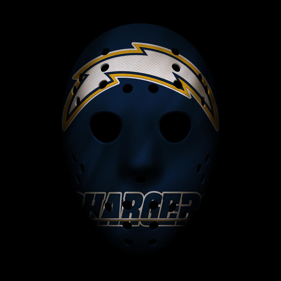 San Diego Chargers Art: San Diego Chargers War Mask Photograph By Joe Hamilton