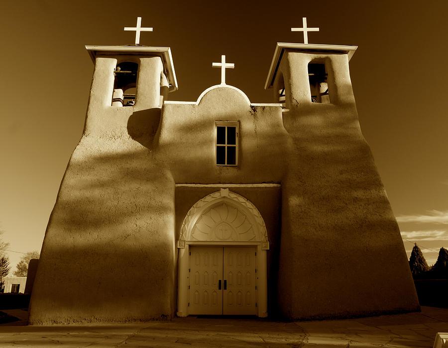 Church Photograph - San Francisco De Asis 1772 by Sean Cupp