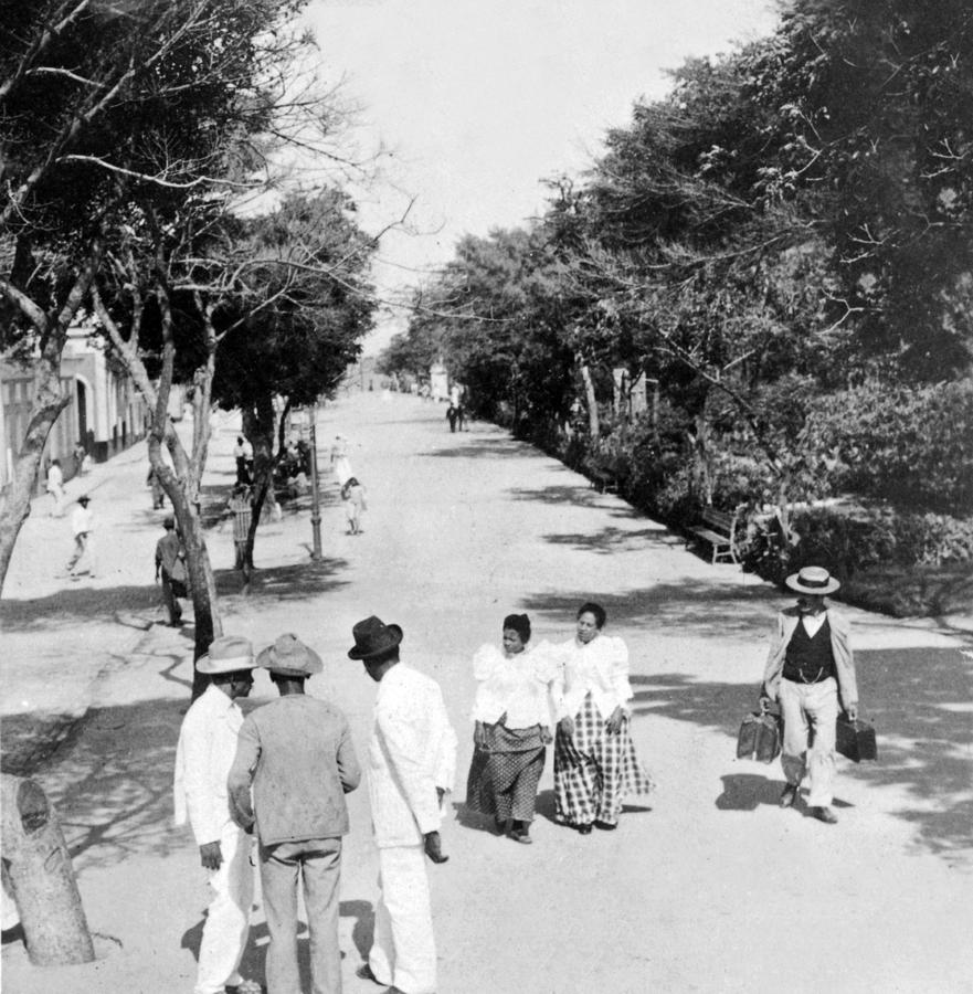 San Juan - Calle De La Princesa - Puerto Rico - C 1899 Photograph