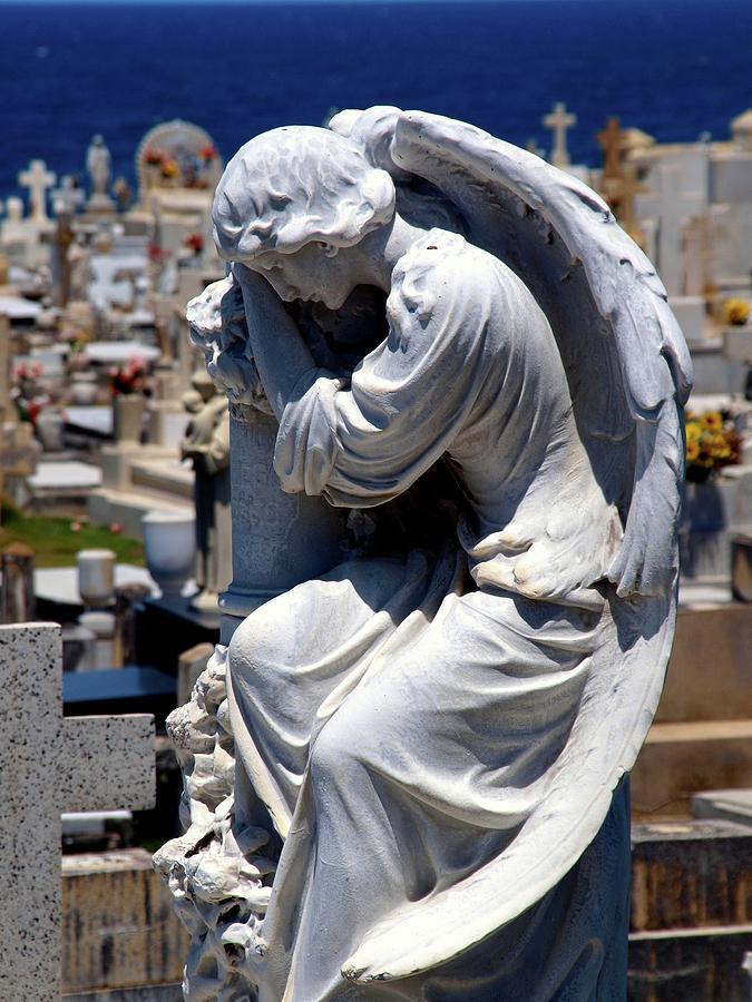 Santa Maria Magdalena De Pazzis Cementary Photograph - San Juan Puerto Rico 76 by Per Lidvall