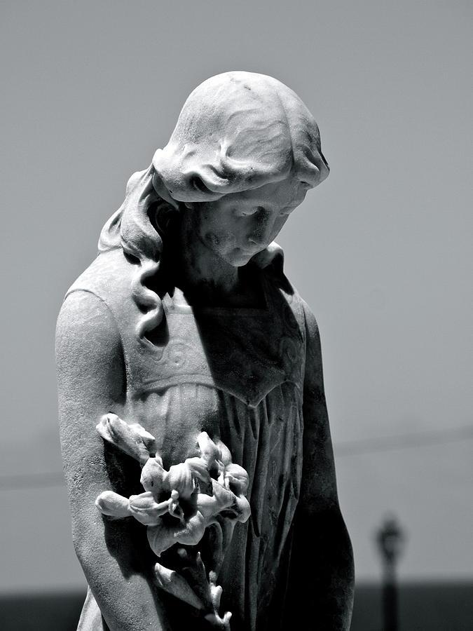 Statue Photograph - San Juan Puerto Rico by Per Lidvall