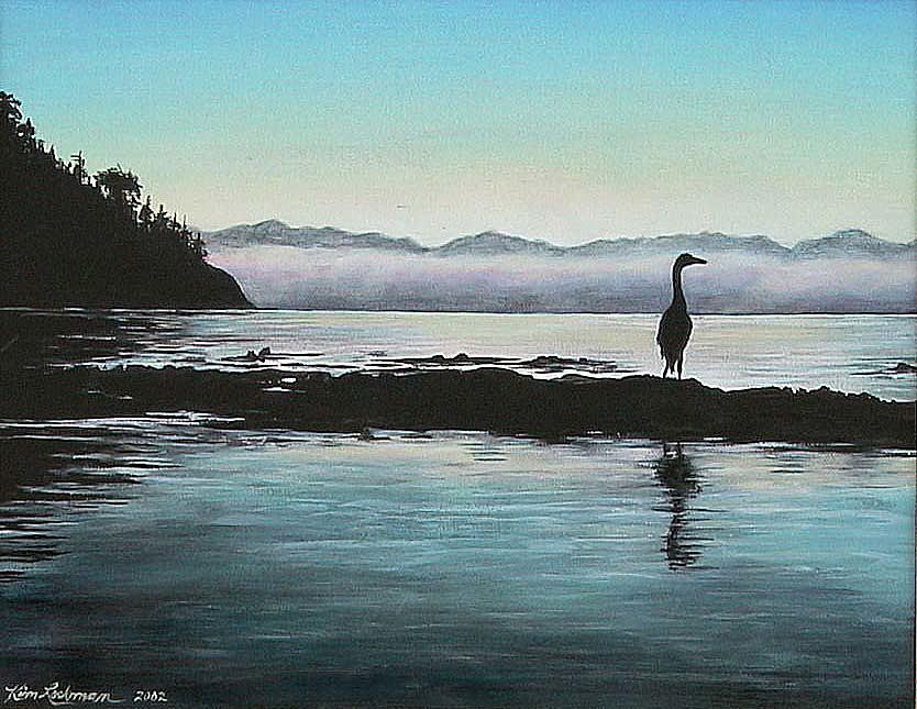 San Juan Island Painting - San Juan Sentinel by Kim Lockman