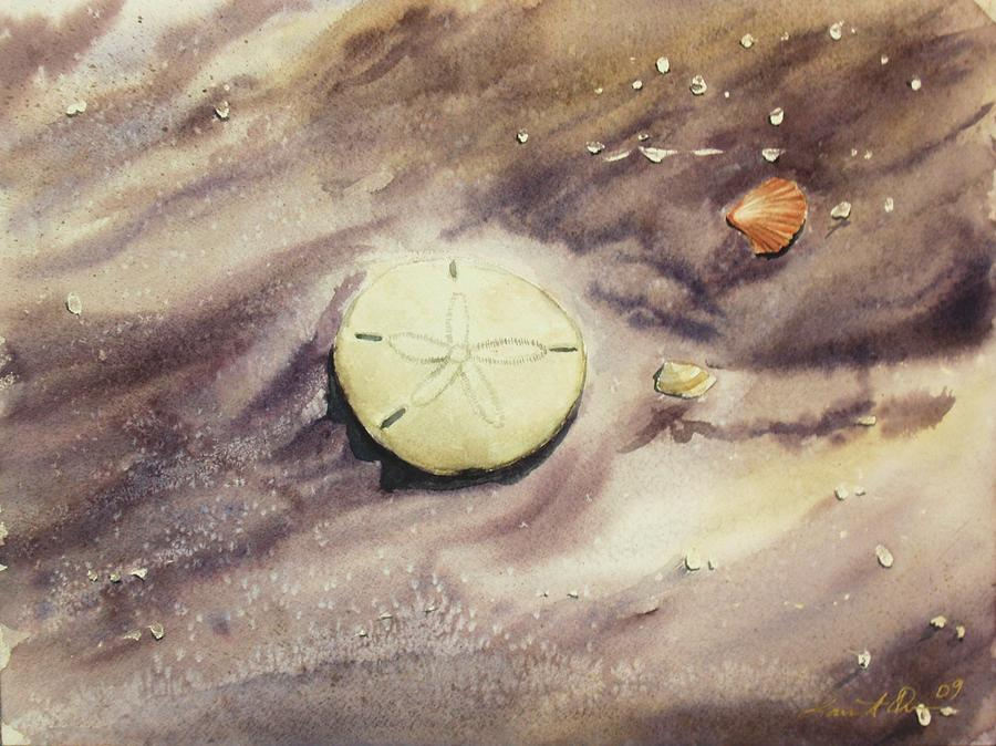 Sand Dollar Painting - Sand Dollar by Lane Owen