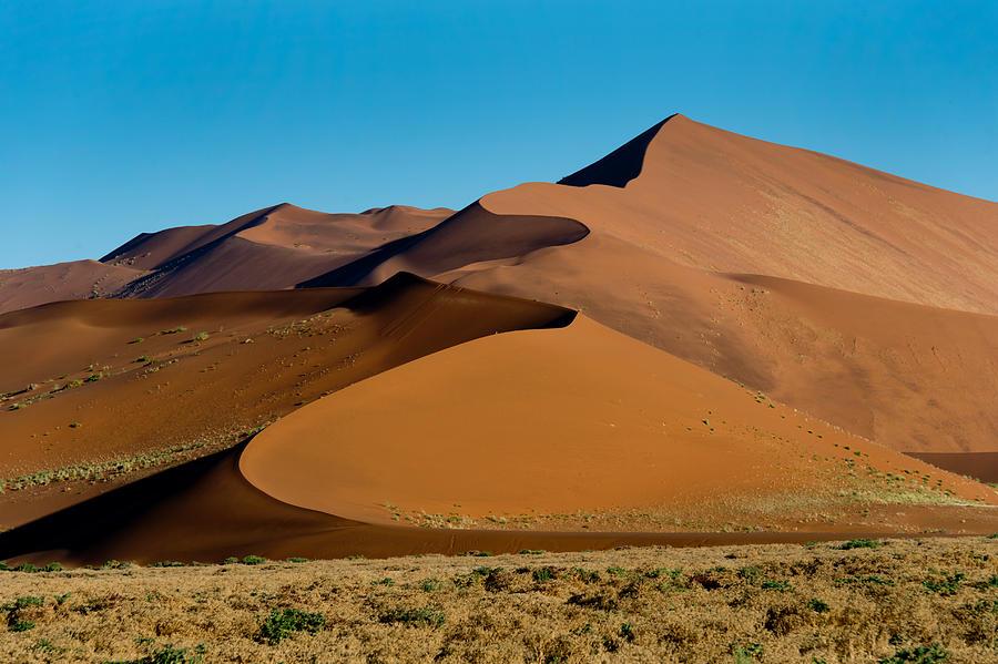 Sand Dunes, Sossusvlei, Namib Desert Photograph by ...