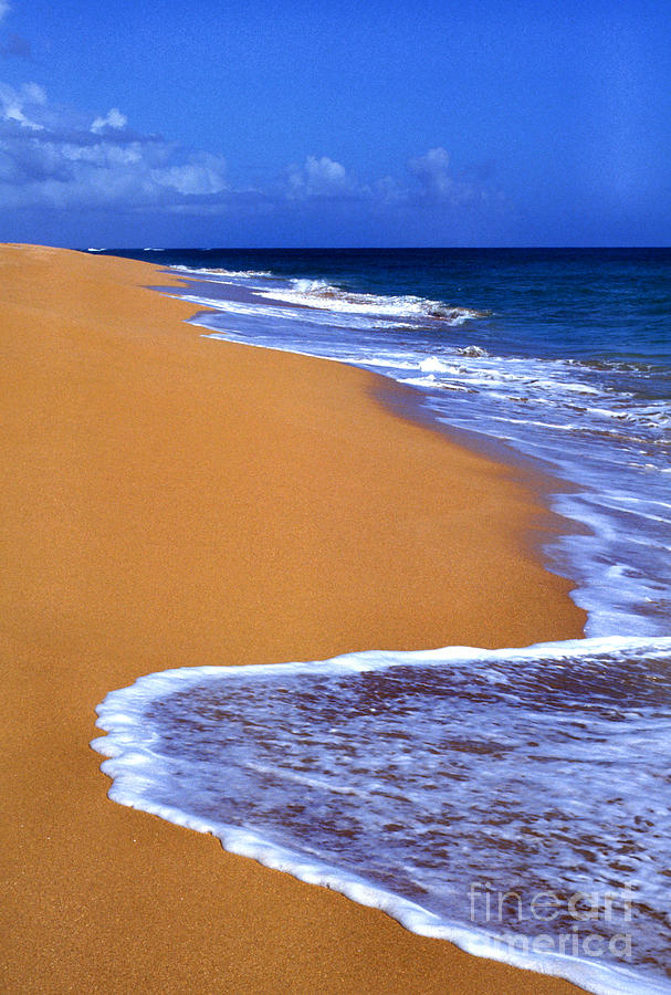 Puerto Rico Photograph - Sand Sea Sky by Thomas R Fletcher