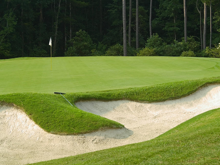 Golf Photograph - Sand Trap by Andrew Kazmierski