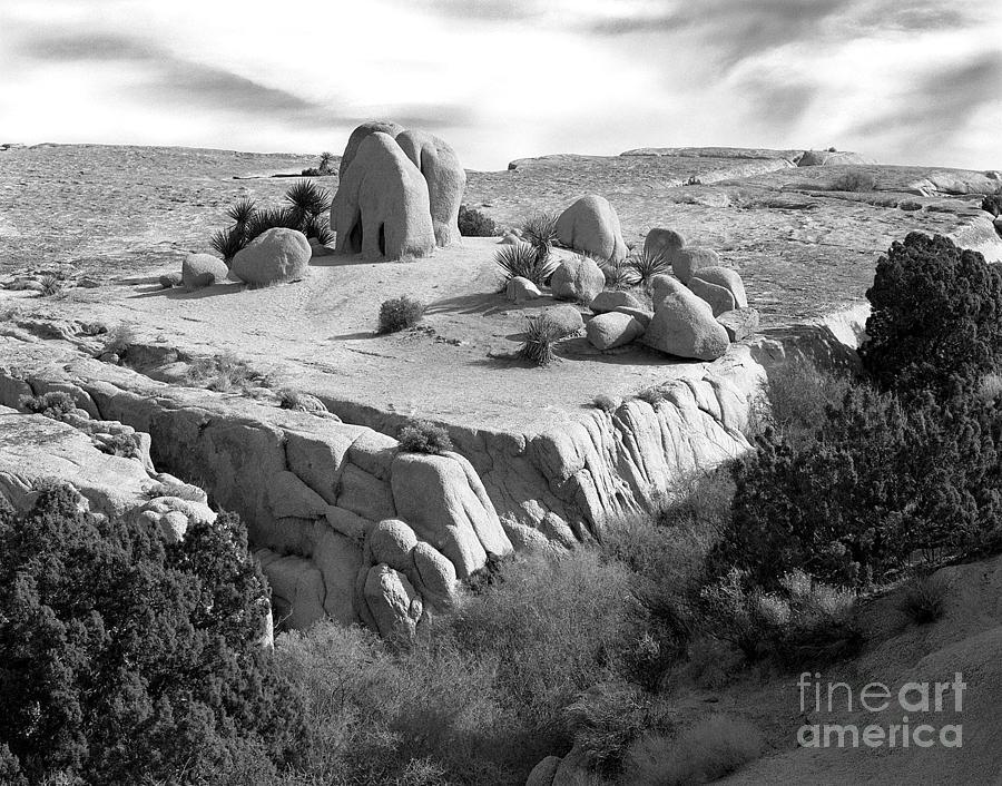 Original Photograph - Sandstone Plateau by Christian Slanec