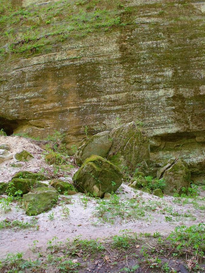 Rock Formation Photograph - Sandy Hill I by Anna Villarreal Garbis