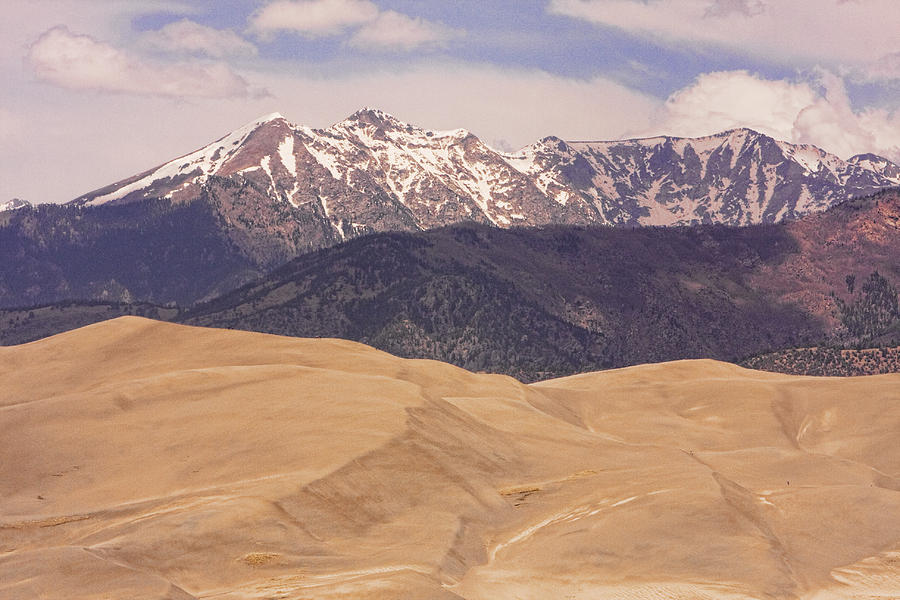 Sangre De Cristo Mountains And The Great Sand Dunes Photograph