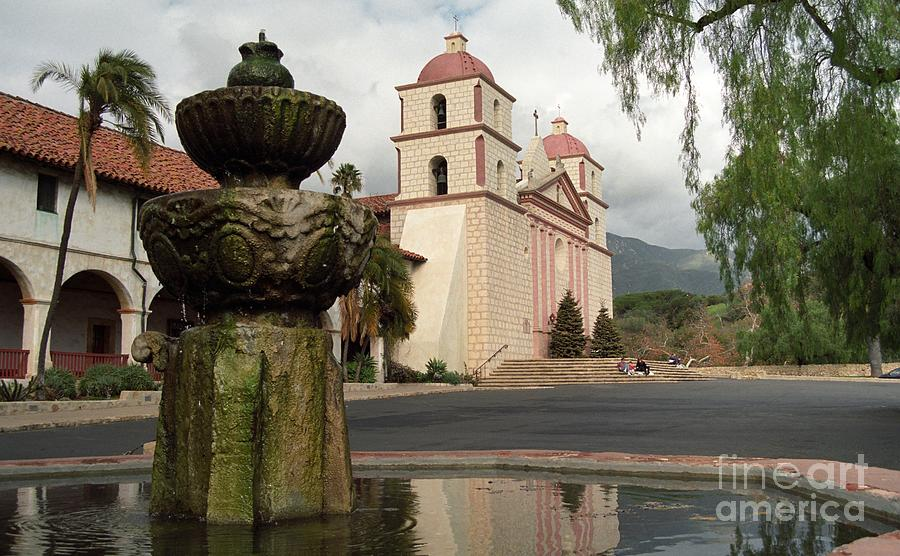 Santa Barbara Mission Photograph