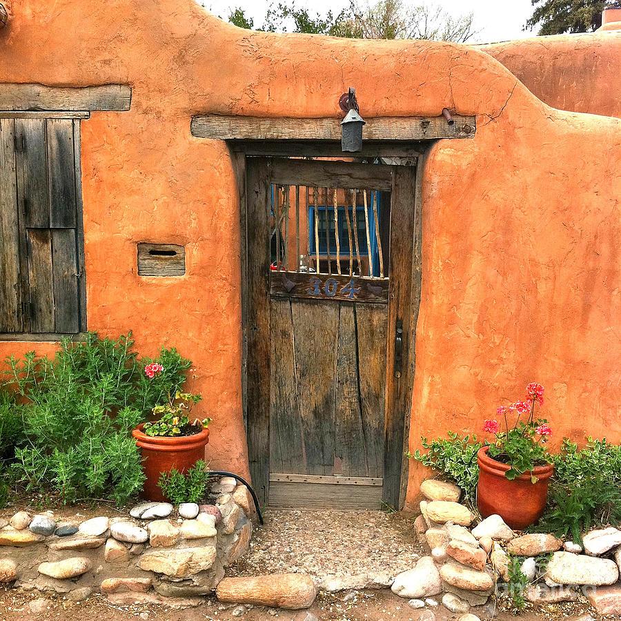 Santa Fe Door Photograph By Matt Suess