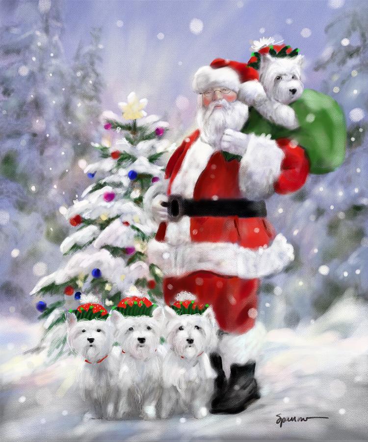 Santas Helpers Digital Art