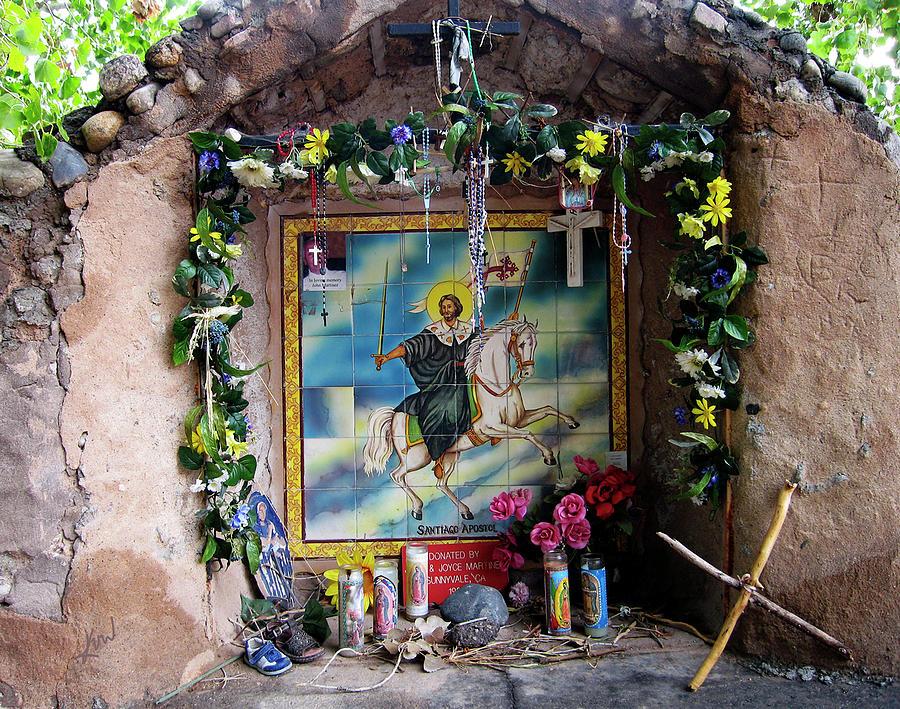 Santiago Apostel Chimayo Photograph - Santiago Apostel Chimayo by Kurt Van Wagner