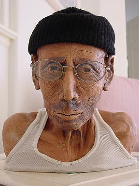 Realistic. Man Sculpture - Santiago by Scott Russo