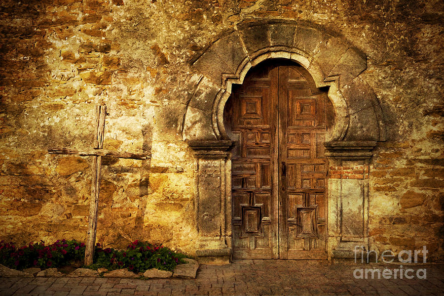 Door Photograph - Santuary by Iris Greenwell