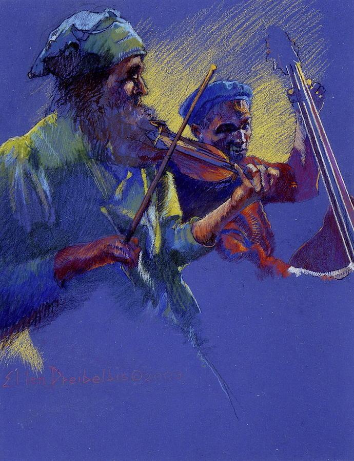Music Painting - Saturday Night by Ellen Dreibelbis