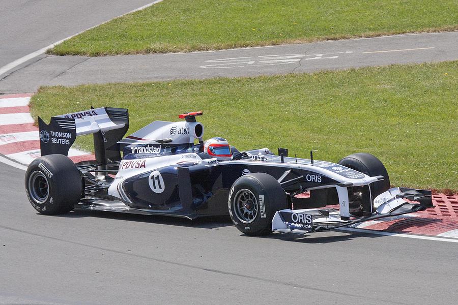 Formula 1 Photograph - Sauber by Art Ferrier
