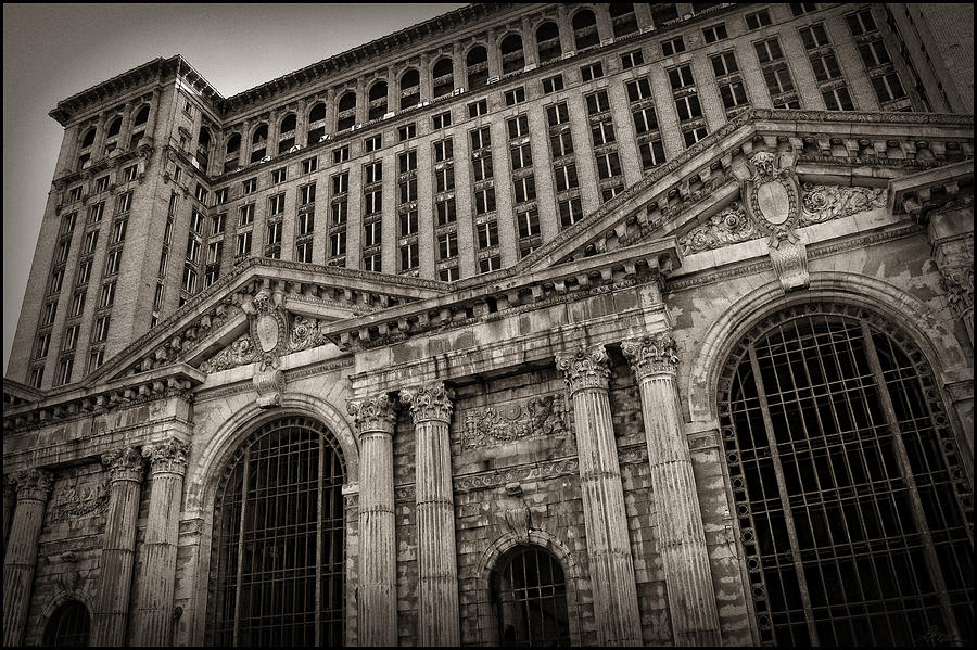 Detroit Photograph - Save The Depot - Michigan Central Station Corktown - Detroit Michigan by Gordon Dean II
