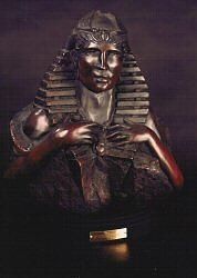 Visionary Sculpture - Scarab Hart by Larkin Chollar