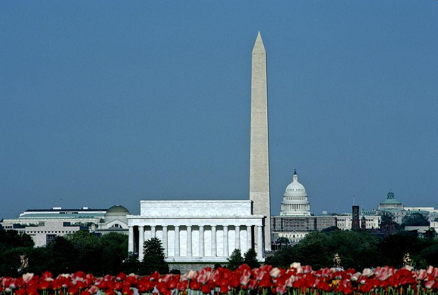 Washington Photograph - Scenic View Of Washington D.c by Kenneth Garrett