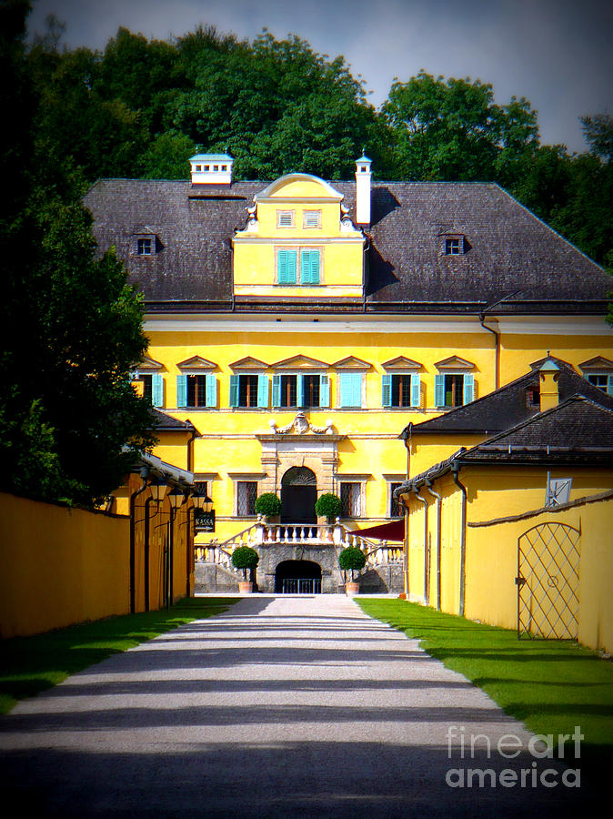 Austria Photograph - Schloss Hellbrunn by Carol Groenen