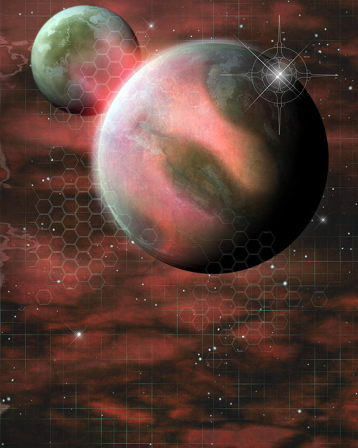 giant pink planet - photo #15