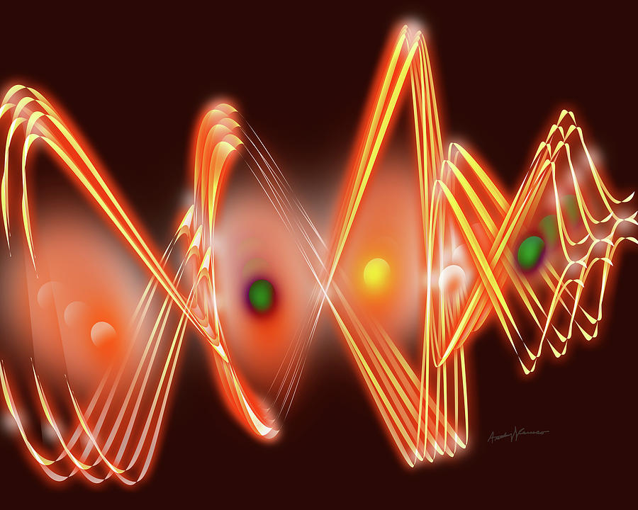 Abstract Digital Art - Science Fiction by Anthony Caruso