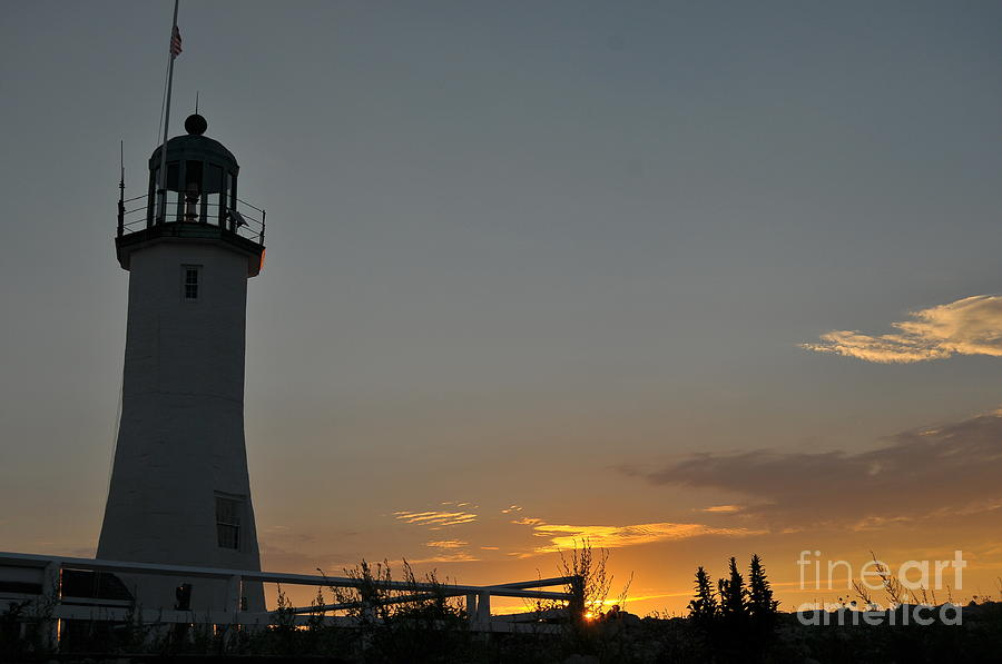 Scituate Light Photograph - Scituate Light by Catherine Reusch  Daley