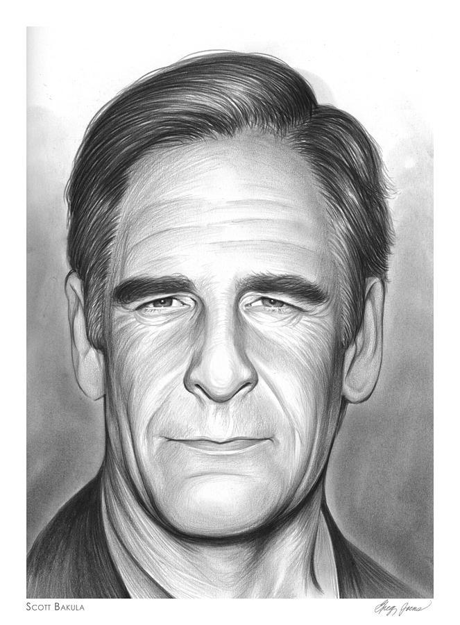 Scott Bakula Drawing