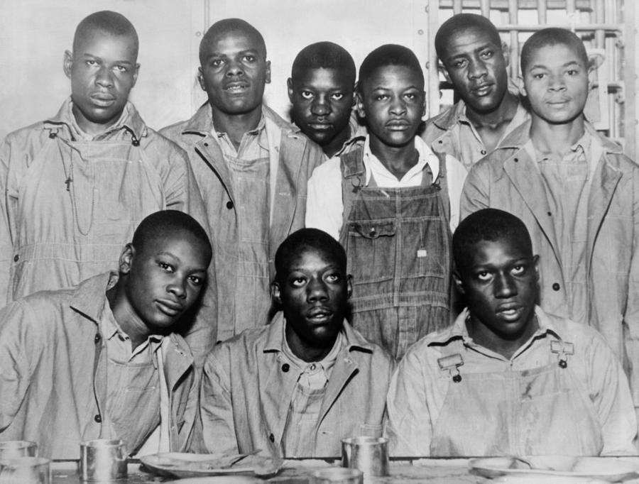 Scottsboro Boys In Jefferson County Photograph