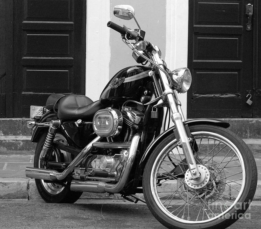 Motorcycle Photograph - Screamin Eagle by Debbi Granruth