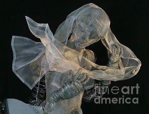 Woman Sculpture - Sculpture by Lydie Dassonville