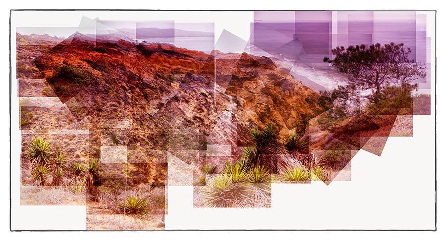 Sea Cliff Sunset Torrey Pines California 2015 Photograph