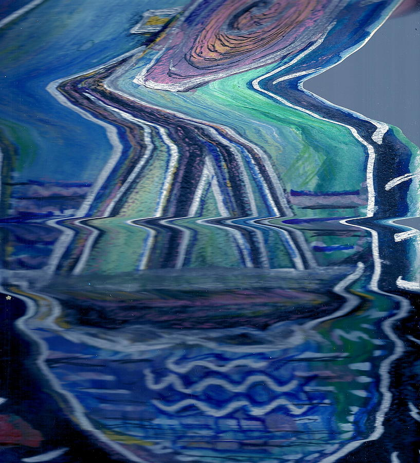 Painting Painting - Sea Cruise Gone Wild by Anne-Elizabeth Whiteway