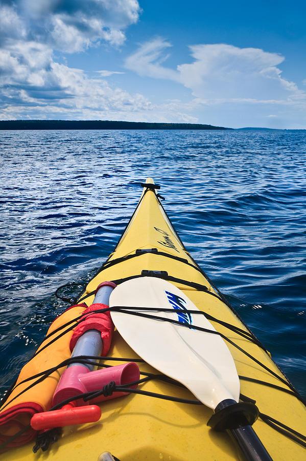 Sea Kayaking Photograph