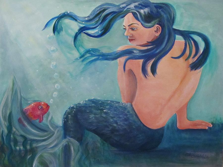 Sea Nymph Painting