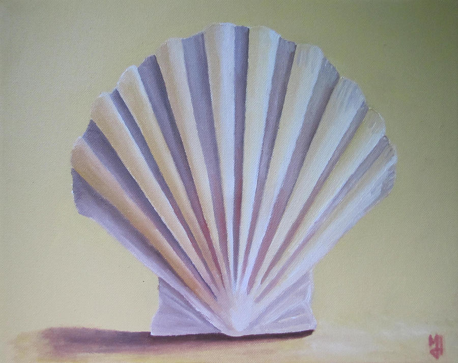Seashell Painting - Seashell II by Michael Holmes
