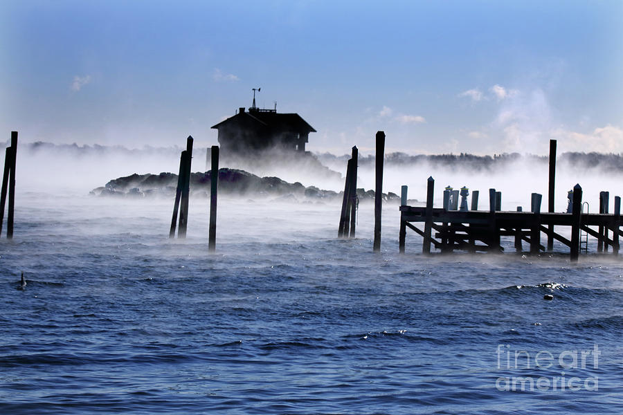 Seasmoke At Clingstone House Is A Photograph By Jim Beckwith Which Was