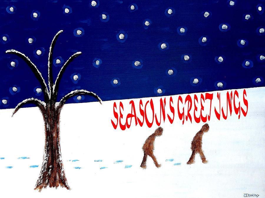 Seasons Greetings 3 Painting