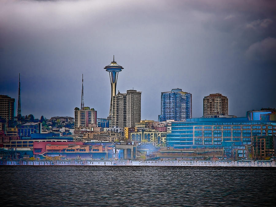 Seattle Photograph - Seattle by Jim DeLillo