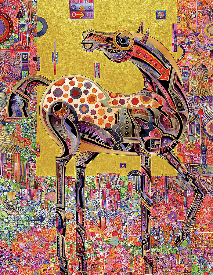 Secessionist Horse Painting