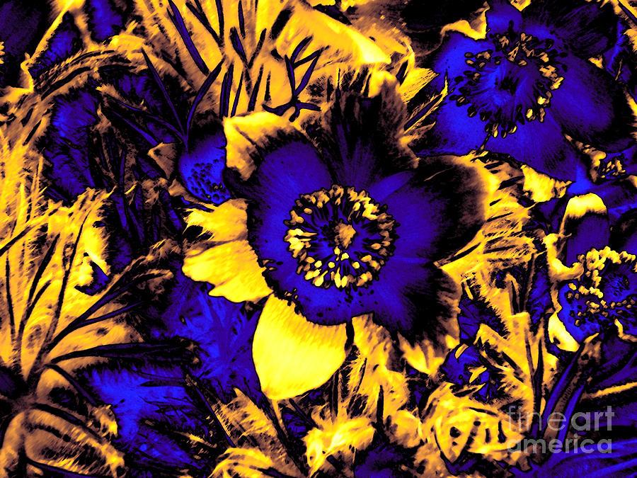 Flower Mixed Media - Secret Garden by Steve K