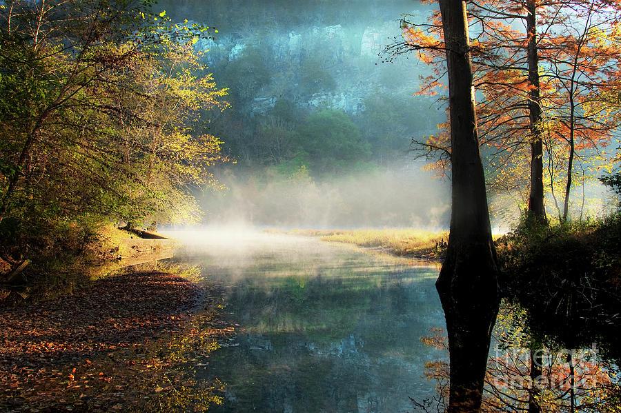 Mist Photograph - Secret Hideaway by Tamyra Ayles