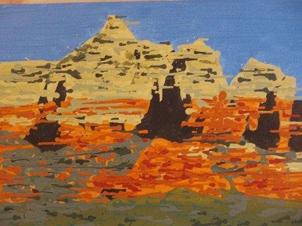 Sedona Painting - Sedona 2 by Samuel Freedman