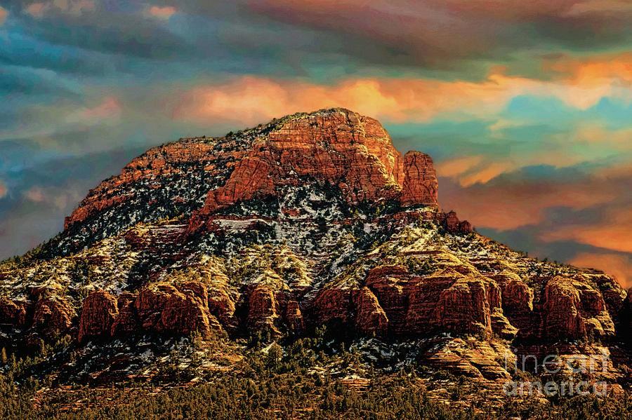 Sedona Photograph - Sedona Dawn by Jon Burch Photography