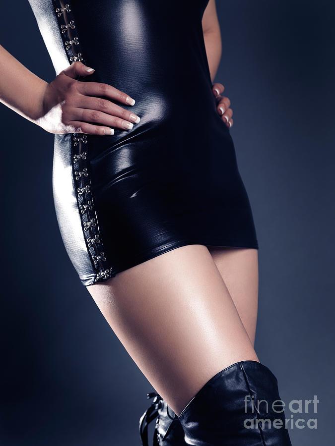 Sexy Woman Photograph - Seductive Woman by Oleksiy Maksymenko
