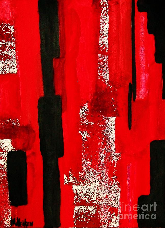 Painting Painting - Seeing Red by Marsha Heiken